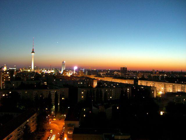 Blick über Berlin Mitte