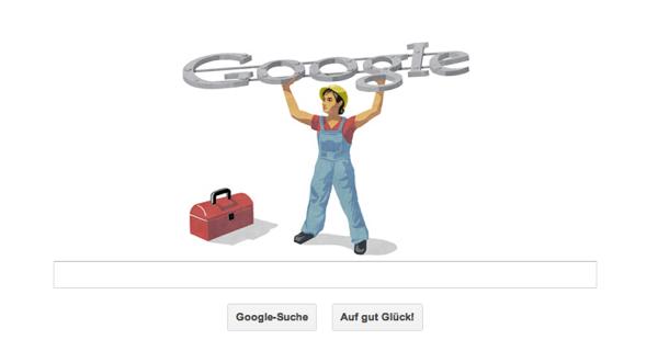 Google Doodle zum Tag der Arbeit