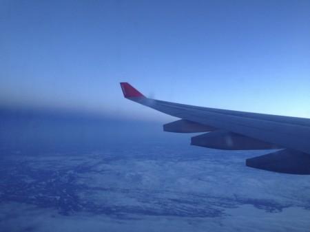 Auf dem Weg nach New York