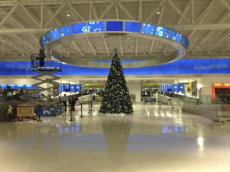 JetBlue Terminal am JFK in New York