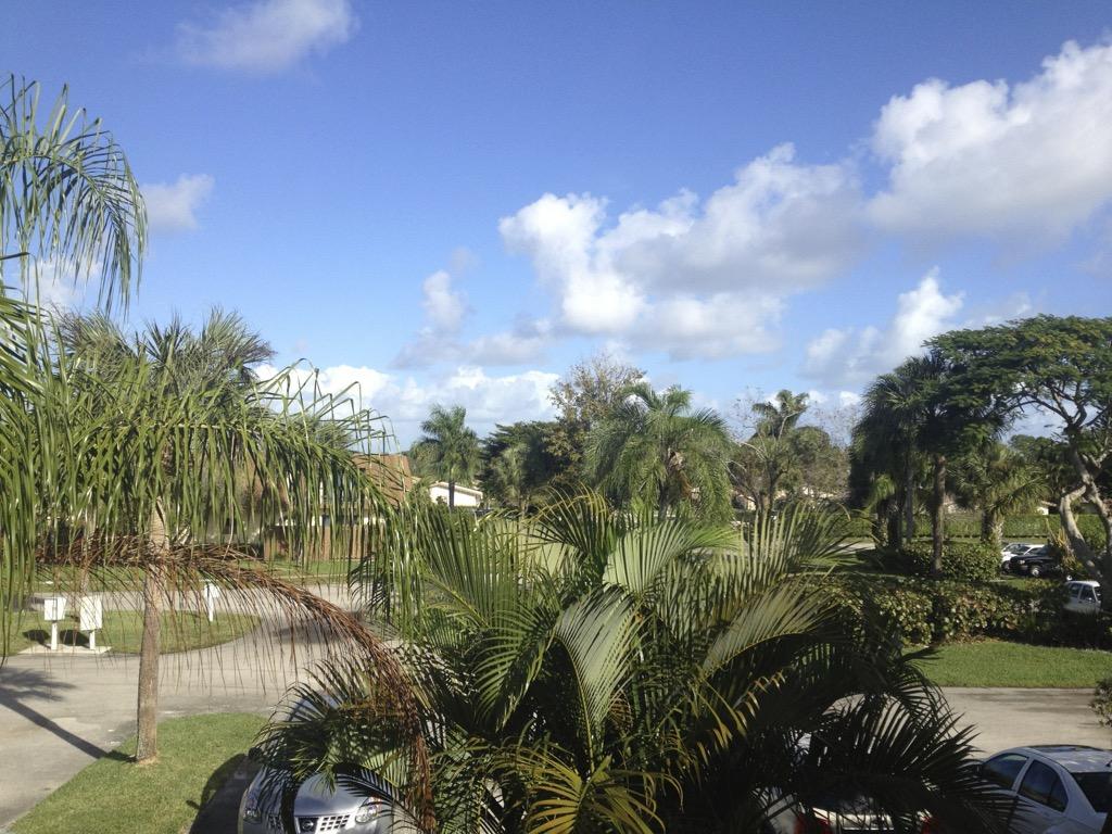 Aufwachen in Jupiter, Florida