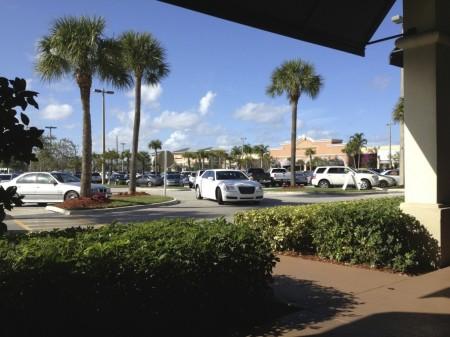 Typische Mall in Florida