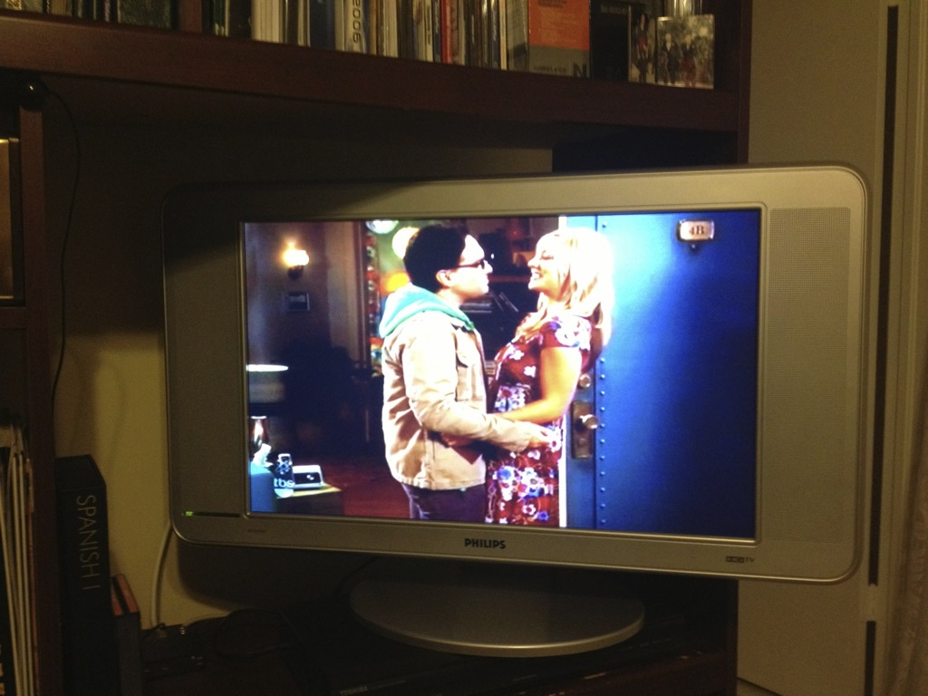 Zum einschlafen eine Folge The Big Bang Theory in Originalfassung